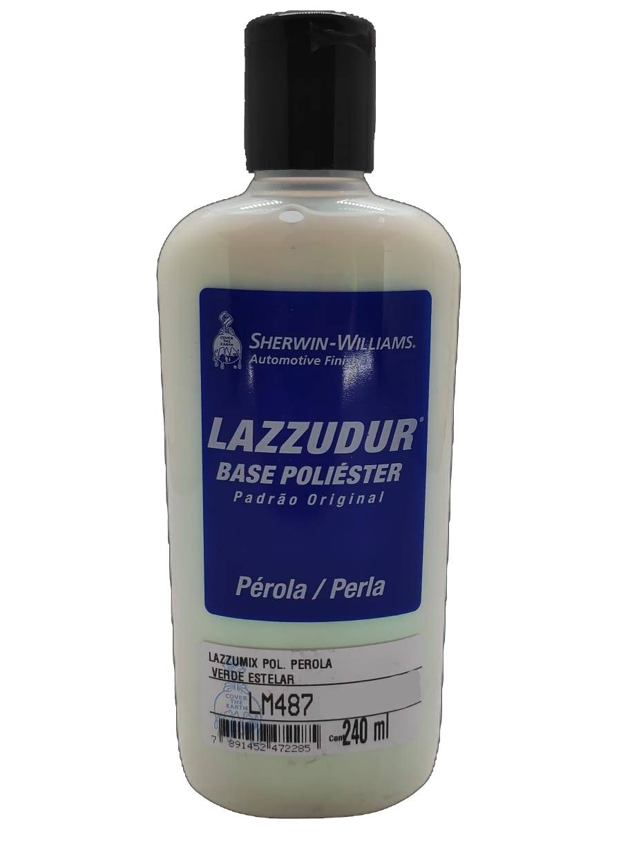 Base LM-487 Perola Verde Estelar 240ml - Lazzuril