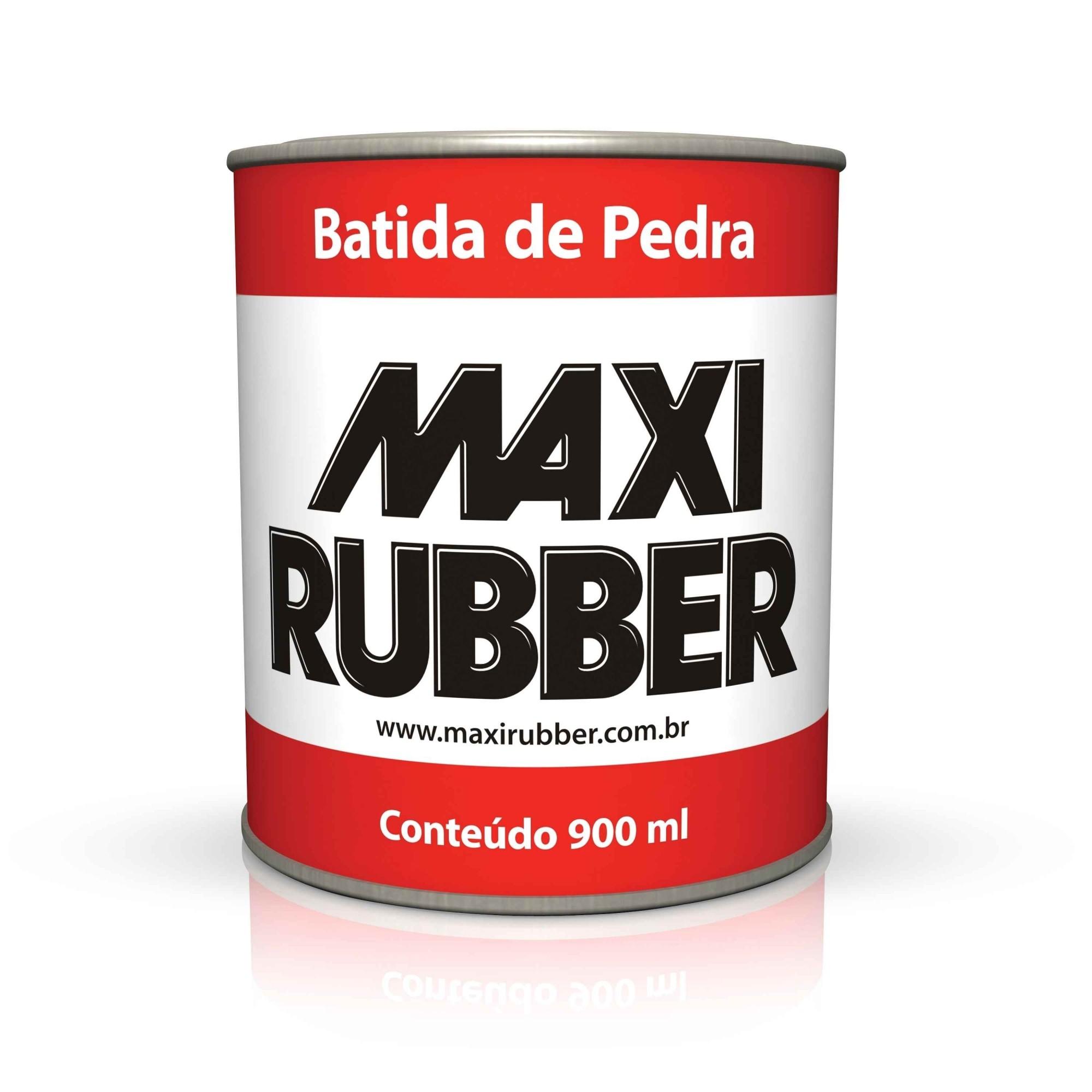 Batida de Pedra Preto 900ml - Maxi Rubber