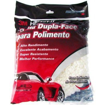 Boina Dupla Face Normal Branca - 3M