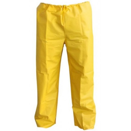 Calça PVC Amarelo Tamanho GG - Brascamp