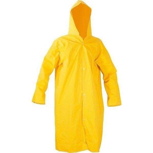 Capa de Chuva PVC Com Manga Amarelo Tamanho G - Brascamp