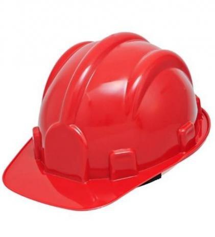Capacete Carneira Simples Vermelho CA31469 - Plastcor
