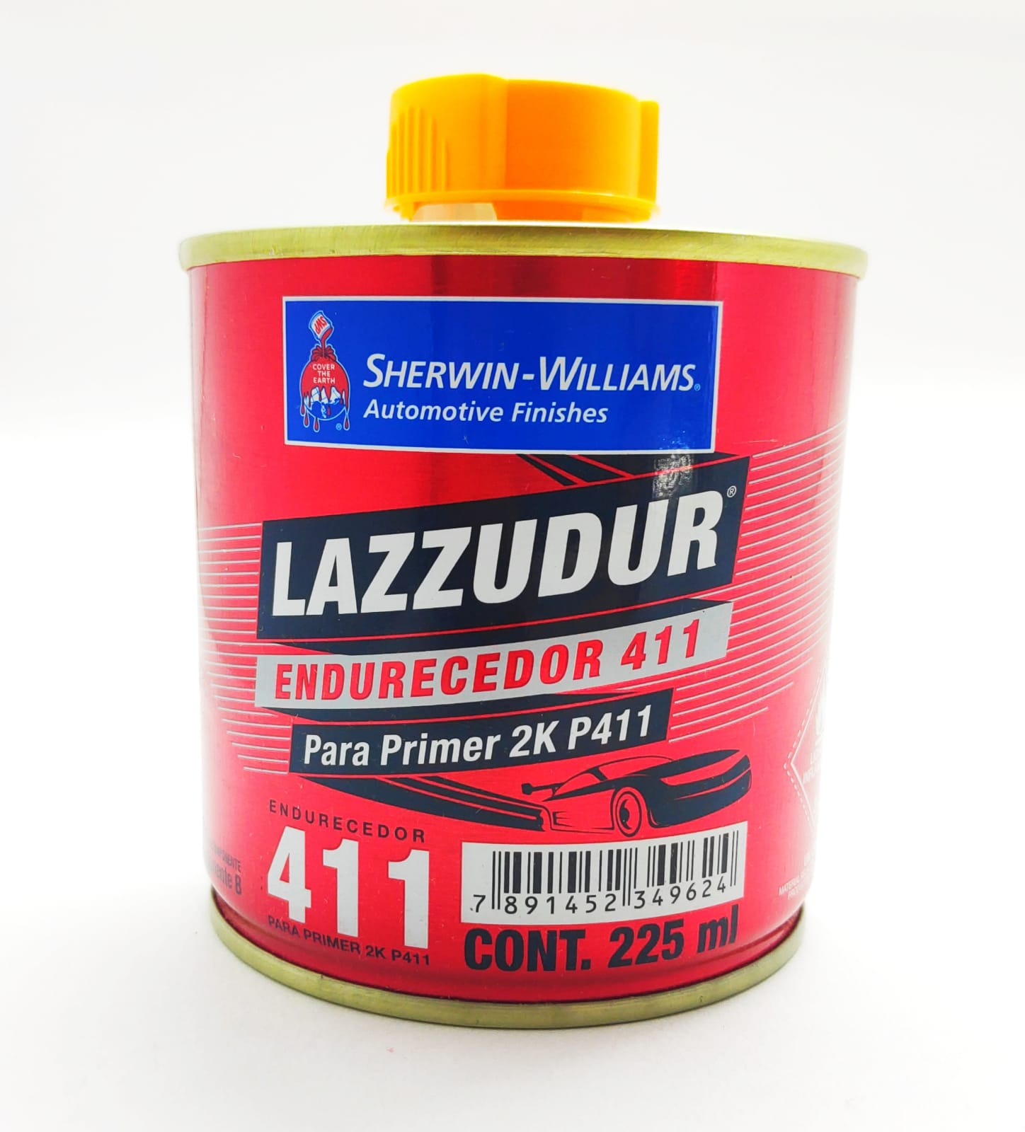 Catalisador Primer 2k P411 PU 225ml - Lazzuril