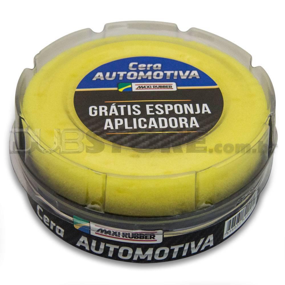 Cera Automotiva Cremosa 200g - Maxi Rubber