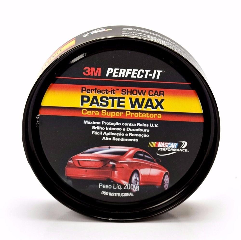 Cera Automotiva Super Protetora Paste Wax 200g - 3M