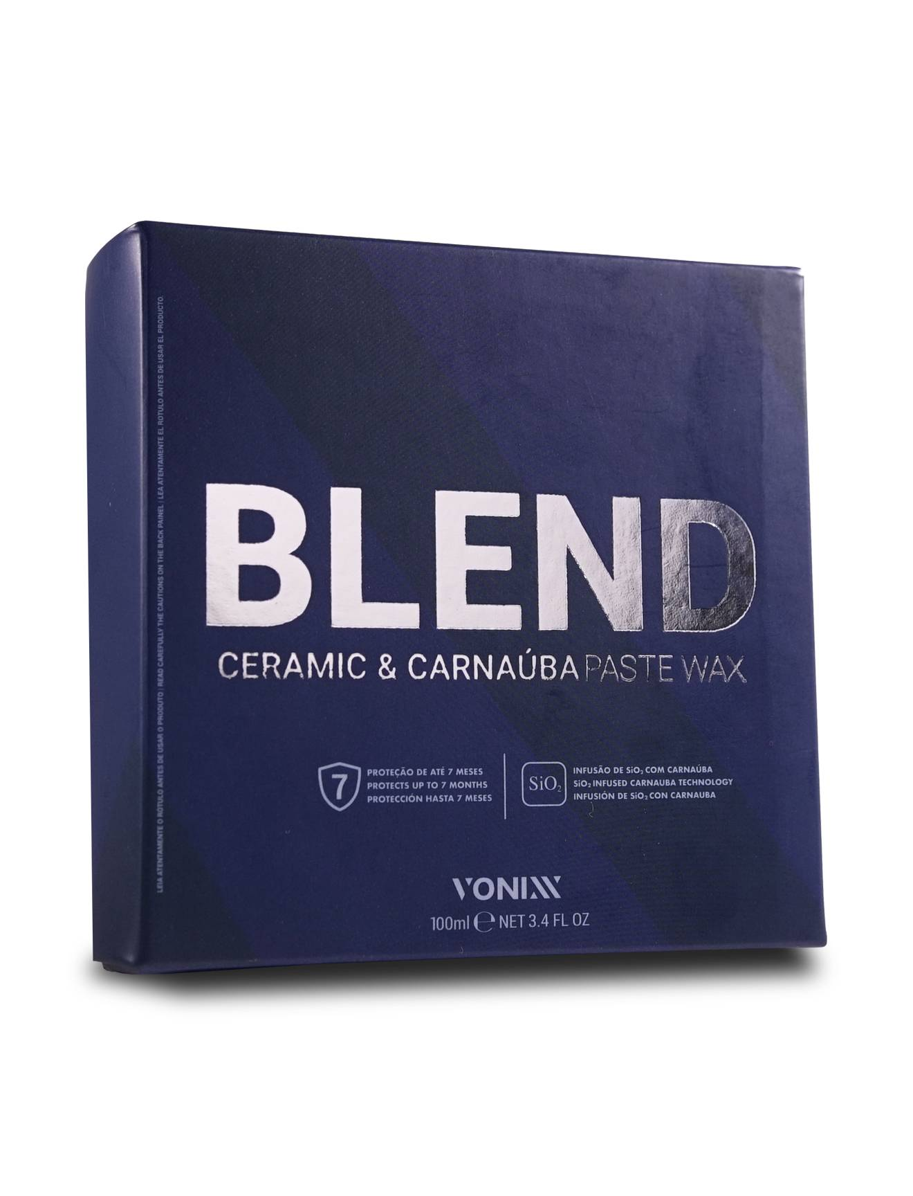 Cera Carnaúba Blend Past Way 100ml - Vonixx
