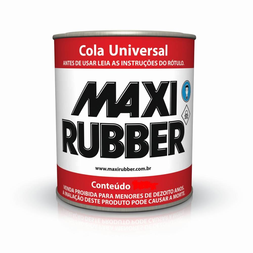 Cola Universal Adesivo Contato 193.5g Maxi Rubber