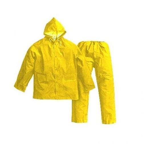 Conjunto Calça Blusão Trevira KP400 Amarelo Tamanho M - Brascamp