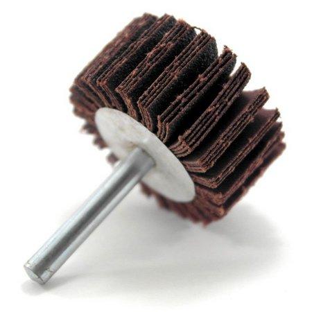 Roda PG Minikontur Com Haste 1/4Pol 50x25 Grão 220