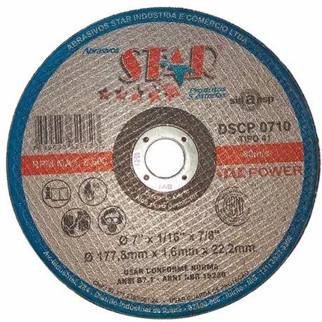 Disco Corte 10Pol 10x1/8x5/8 - Star