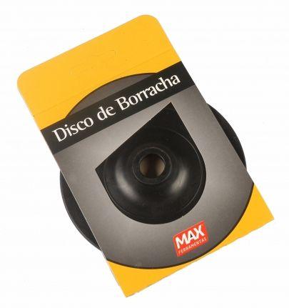 Disco de Borracha Flexível 5Pol 125mm - Max