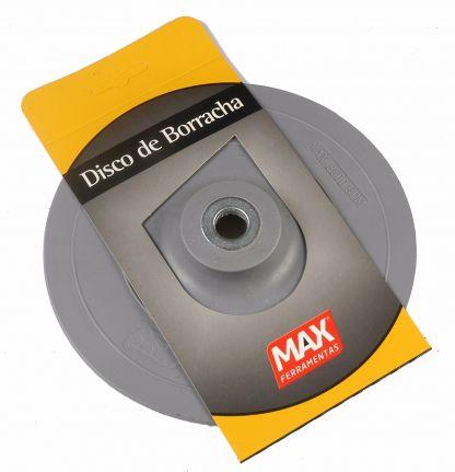 Disco de Borracha Rígido Cinza 7Pol 178mm - Max