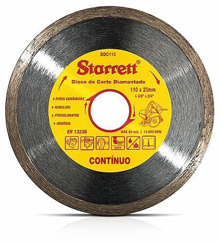 Disco Diamantado 110mm Contínuo - Starrett