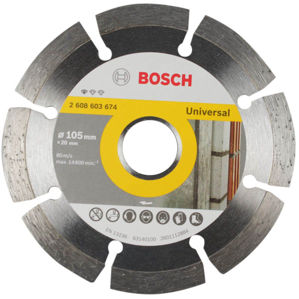 Disco Diamantado 110mm Segmentado Standard - Bosch