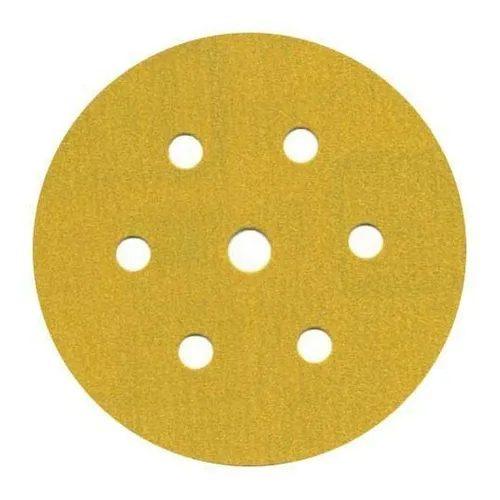Disco Hookit 6Pol 152mm Ouro 236U Com 7 Furos Grão 180 - 3M