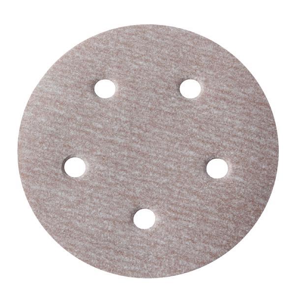 Disco Hookit A275 6Pol 152mm 6 Furos Grão 320 - Norton