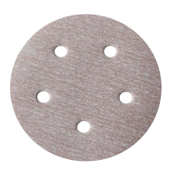 Disco Hookit A275 6Pol 152mm 6 Furos Grão 400 - Norton