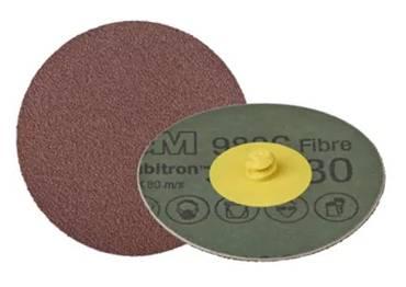 Disco Roloc 341DL 50mm Grão 100 - 3M