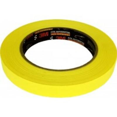 Fita Automotiva Amarela Alta Perfomance  18mm x 40 Metros - 3M