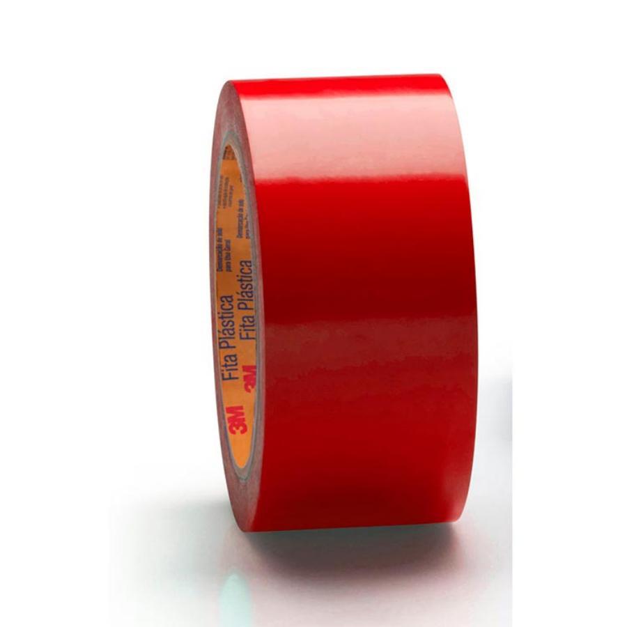 Fita Demarcação de Solo 471 19mm x 30 Metros Vermelha - 3M