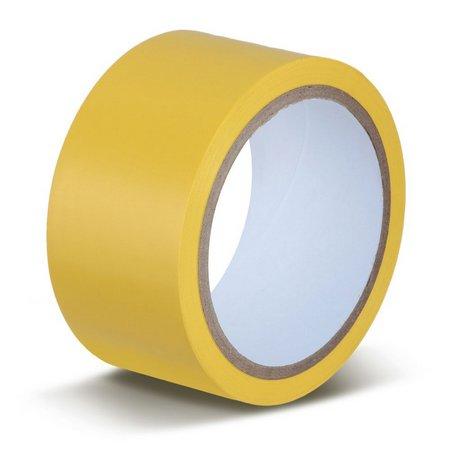 Fita Demarcação de Solo 50mm x 30 Metros Amarela - DayBrasil