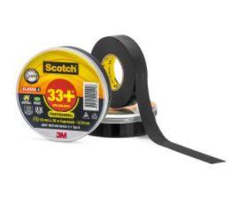 Fita Isolante 3M Scotch 33+ Preta 19mm x 20m