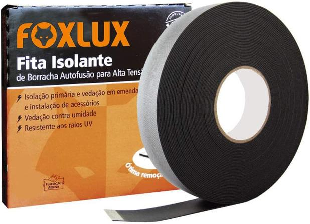 Fita Isolante Autofusão 19mm X 10M - FoxLux