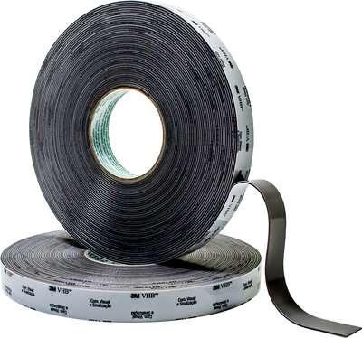 Fita VHB Dupla Face Espuma CV 150 Original 25mm x 20 Metros- 3M