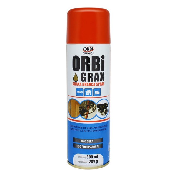Graxa Branca Spray 209gr/300ml - OrbiQuimica