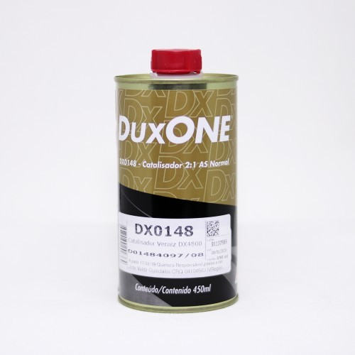 KIT Verniz DX4800 Alto Solidos Duxone 900ml + Catalisador DX0148 450ml - Dupont