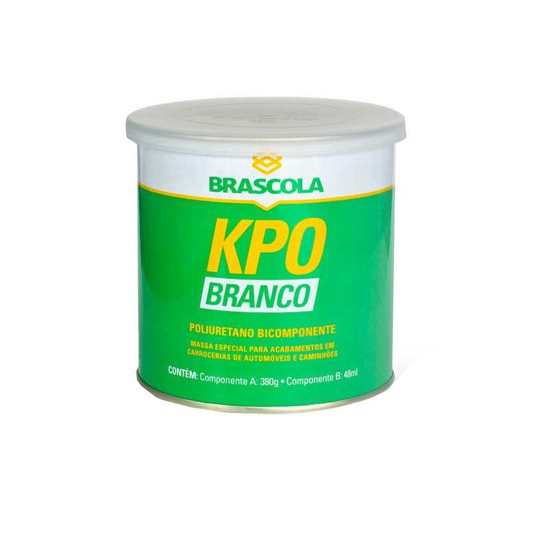 KPO Branco Adesivo Bicomponente 460g - Brascola