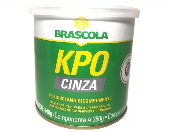 KPO Cinza Adesivo Bicomponente 440g - Brascola