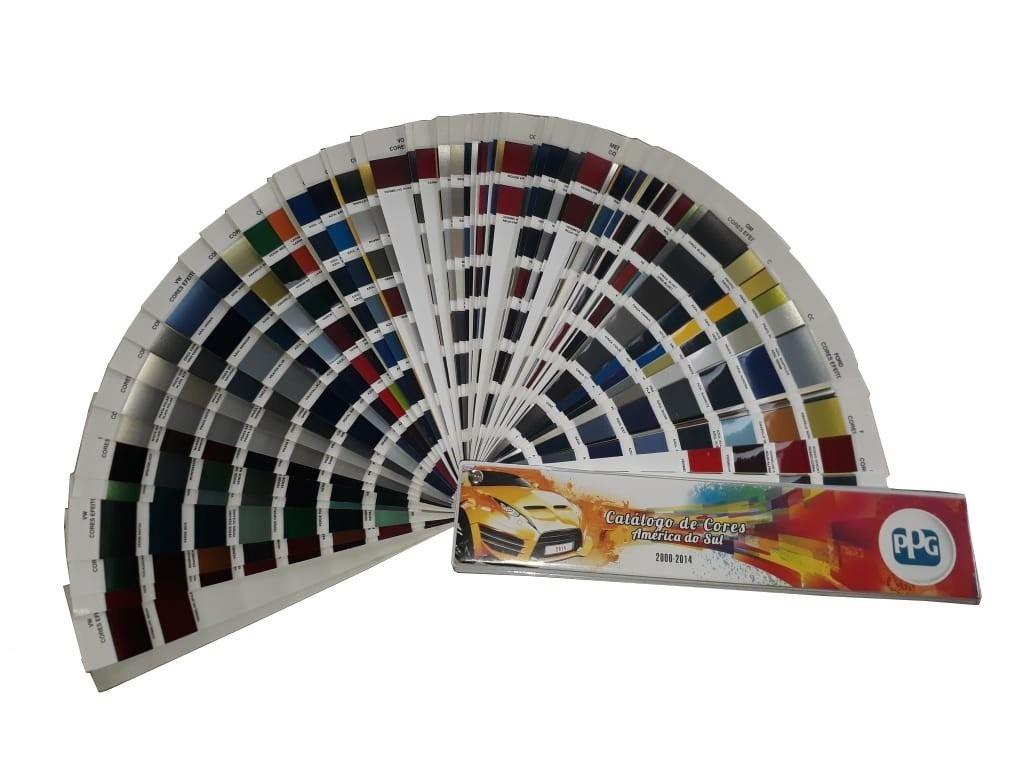 Leque de Cores  - Catálogo de Tintas 2000 a 2014 - PPG