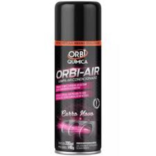 Limpa Ar Condicionado Spray OrbiAir Carro Novo 200ml - OrbiQuímica