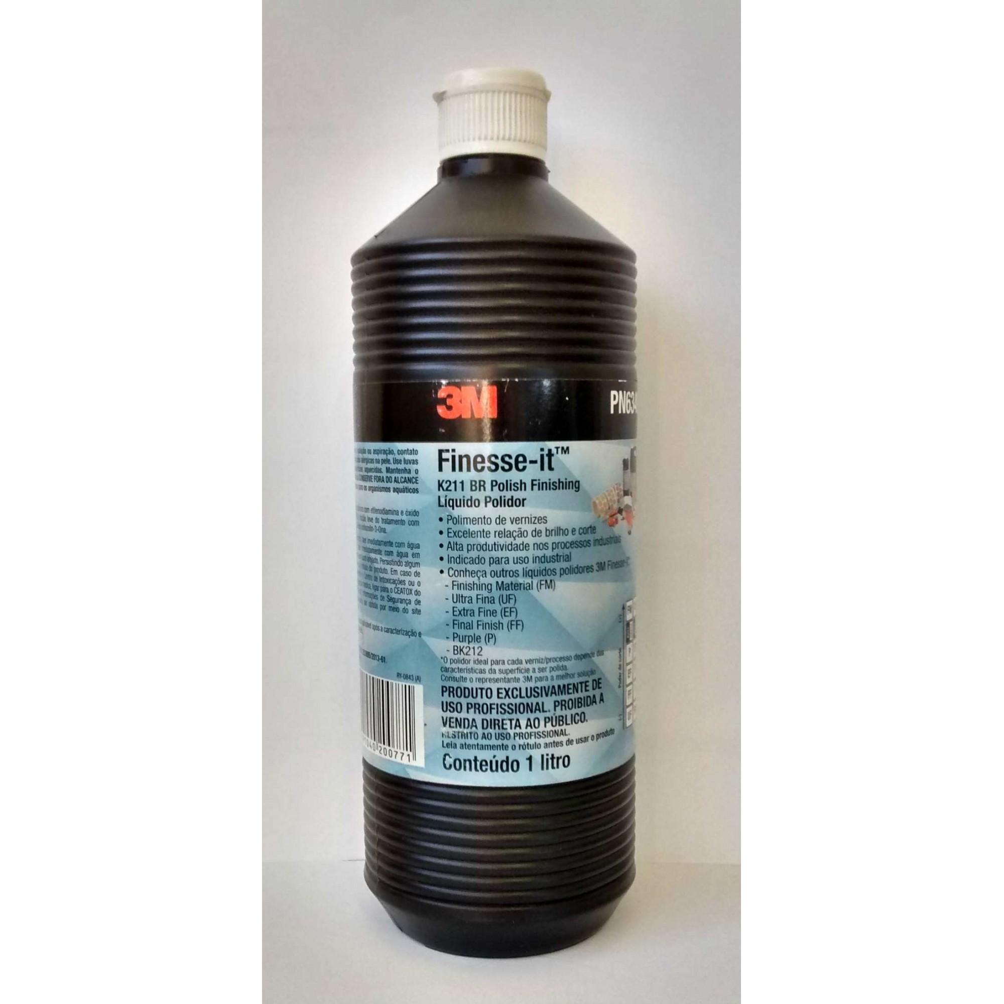 Líquido Polidor BK212 Finesse-it 1L PN00212 - 3M