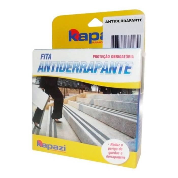 Lixa Anti Derrapante Transparente 50mm x 5 Metros - Kapazi