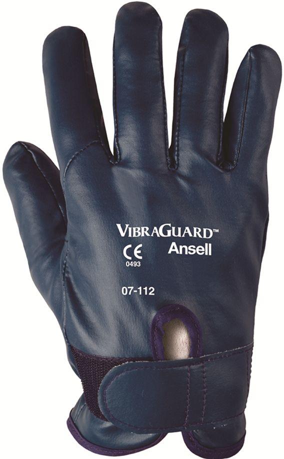 Luva Anti Vibracao Vibraguard Tamanho 09 - Ansell