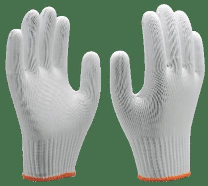 Luva de Malha Branca - Super Safety