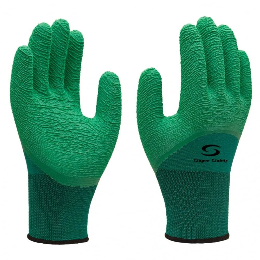 Luva Nitrilon Verde SS1009 CA31895 - Super Safety