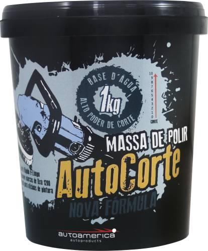 Massa de Polir Auto Corte 1kg - AutoAmérica