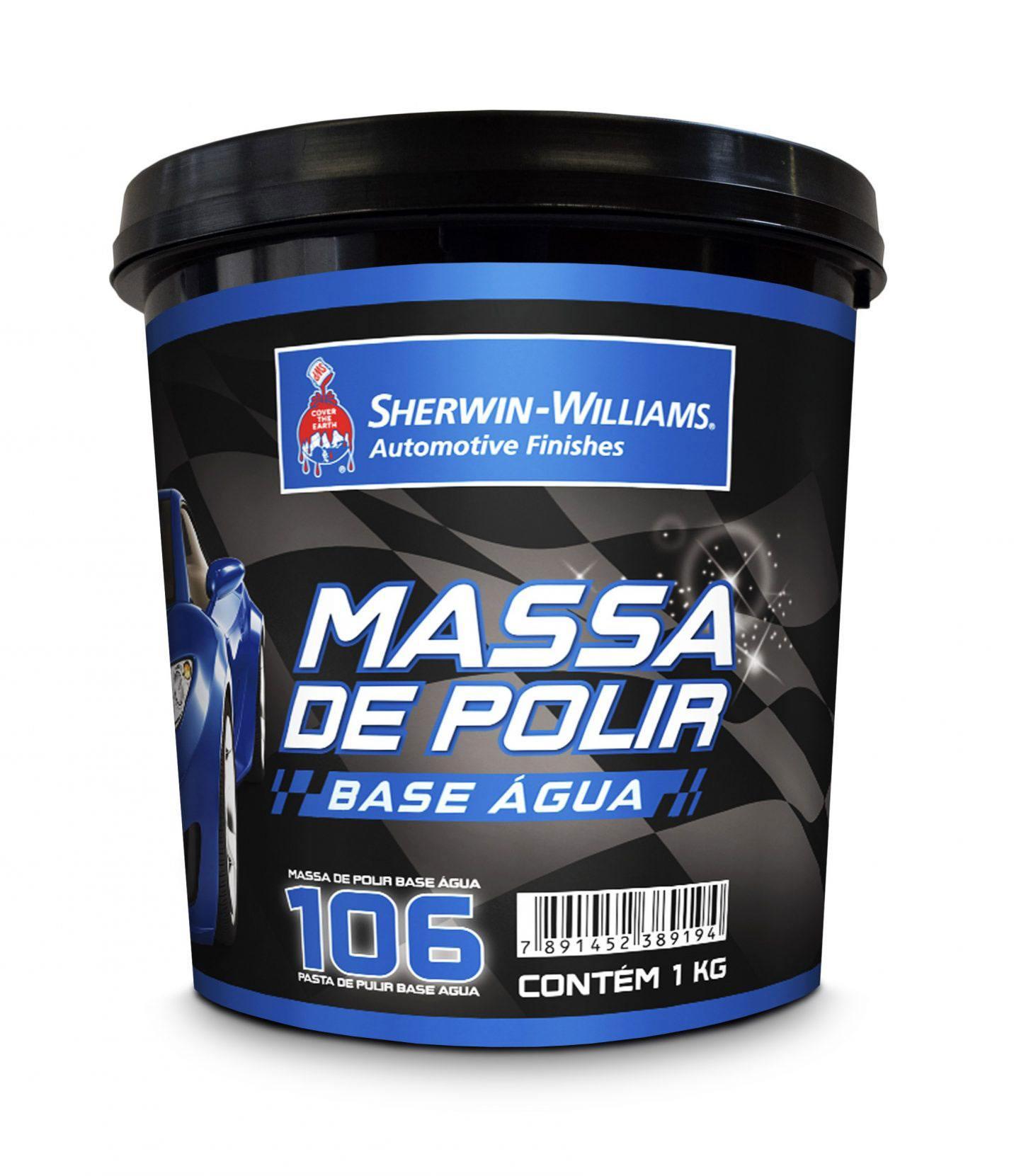 Massa de Polir Base Dágua Nº02 1kg - Sherwin Williams