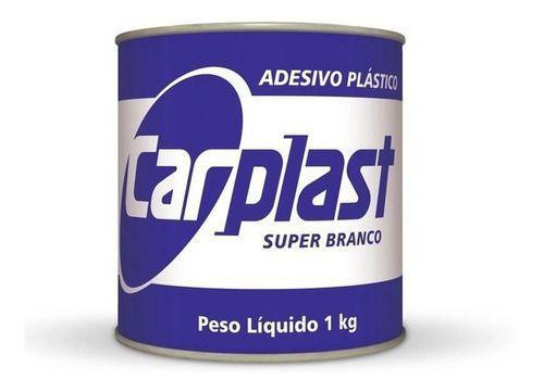 Massa Plástica Branca 1kg - Carplast