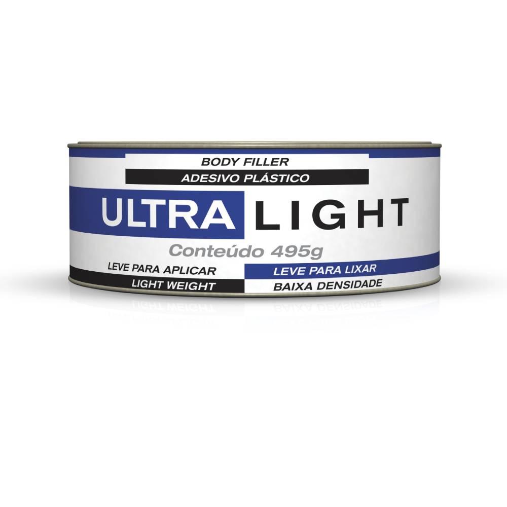 Massa Plástica Ultra Light 495g - Maxi Rubber
