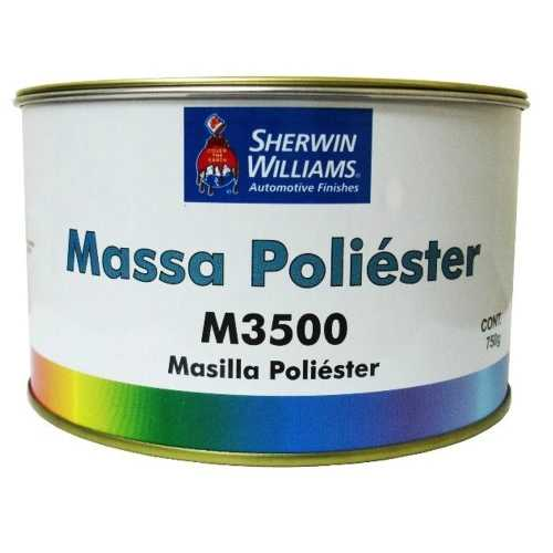 Massa Poliéster M3500 Com Catalisador 750g - Sherwin Williams