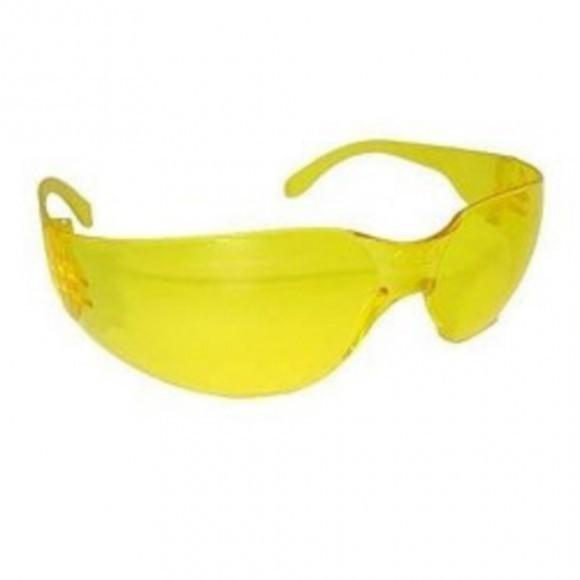 Óculos De Segurança Modelo Águia Amarelo Ambar - Danny