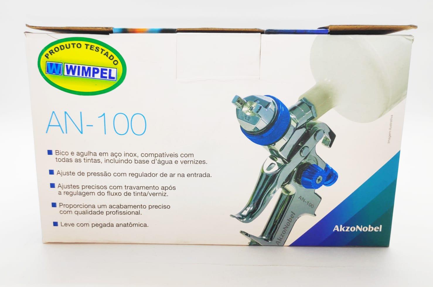 Pistola de Pintura AN 100 HVLP 1.3mm - Wanda