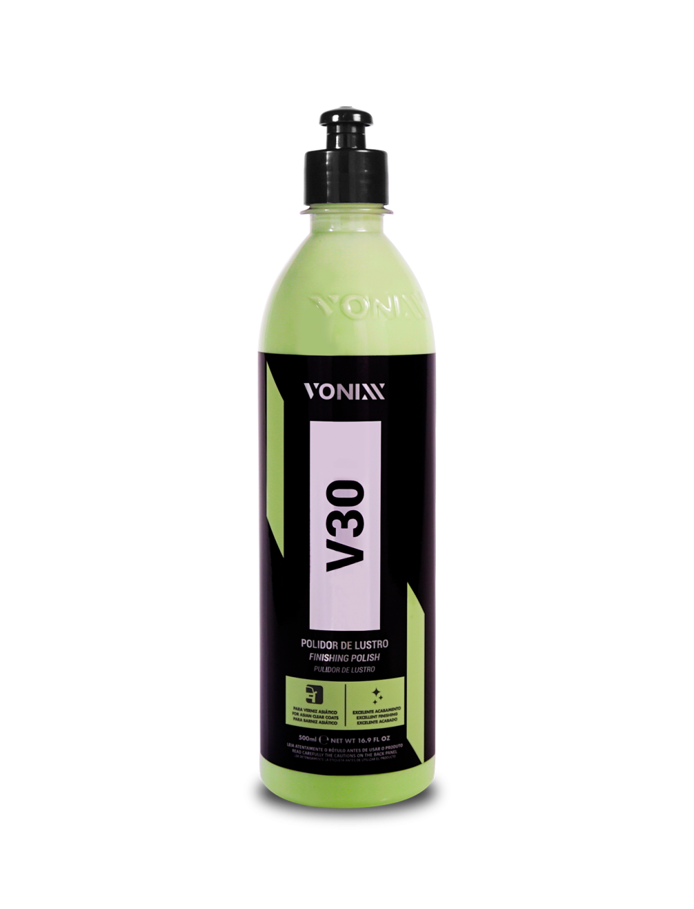 Liquido Lustrador V30 Verniz Asiatico 500ml - Vonixx