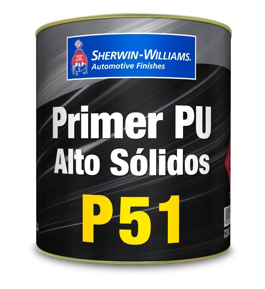 Primer PU Alto Sólidos P51 750ml - Sherwin Williams