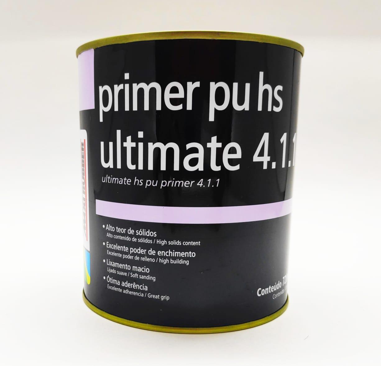 Primer PU HS Ultimate 4.1.1 720ml - Maxi Rubber