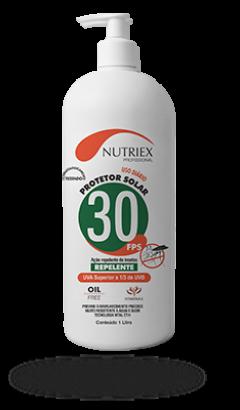 Protetor Solar Com Repelente FPS30 1 Litro - Nutriex